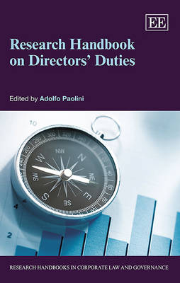 Research Handbook on Directors' Duties - Research Handbooks in Corporate Law and Governance Series (Hardback)