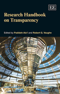 Research Handbook on Transparency (Hardback)