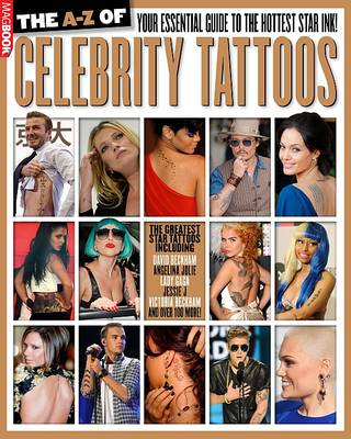 The A-Z of Celebrity Tattoos (Paperback)