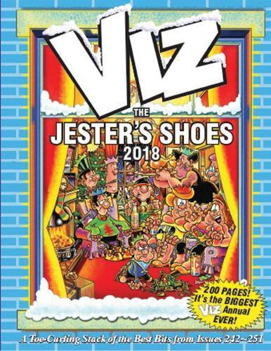 Viz Annual 2018: The Jester's Shoes (Hardback)