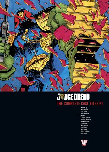 Judge Dredd: v. 21: The Complete Case Files (Paperback)