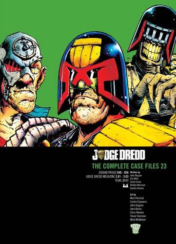 Judge Dredd: v. 23: The Complete Case Files (Paperback)