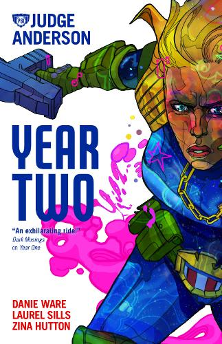 Judge Anderson: Year Two (Paperback)