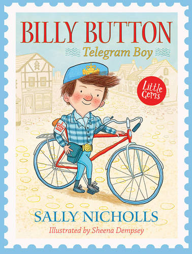 Cover of the book, Billy Button, Telegram Boy.