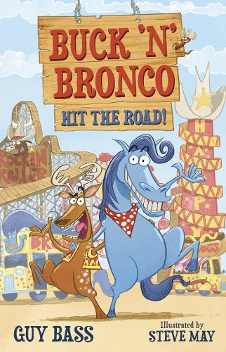 Buck 'n' Bronco: Hit the Road (Paperback)