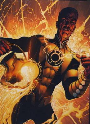 Absolute Green Lantern: Sinestro Corps War (Hardback)
