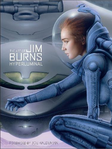 The Art of Jim Burns: Hyperluminal (Hardback)