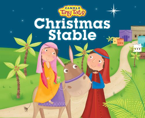 Christmas Stable - Candle Tiny Tots (Hardback)