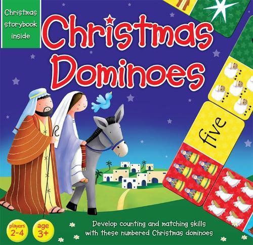 Christmas Dominoes - Magnetic Adventures