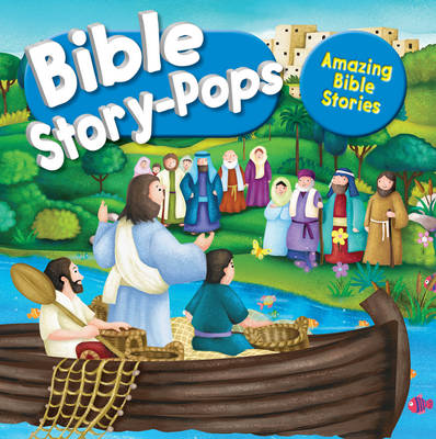 Amazing Bible Stories: 3 fantastic stories (Hardback)