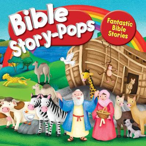 Fantastic Bible Stories: 3 amazing stories (Hardback)