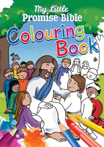 My Little Promise Bible Colouring Book (Paperback)