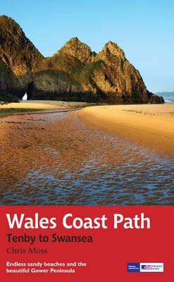 Wales Coast Path: Tenby-Swansea: Trail Guide (Paperback)