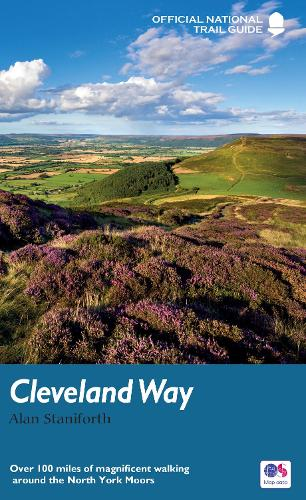 The Cleveland Way: Over 100 miles of magnificent walking around the North York Moors - National Trail Guides (Paperback)