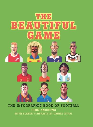 The Beautiful Game: The infographic book of football (Hardback)