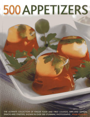 500 Appetizers (Paperback)