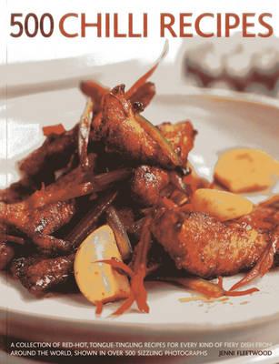 500 Chilli Recipes (Paperback)