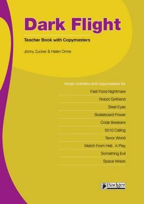 Dark Flight Teacher Book & CD - Dark Flight