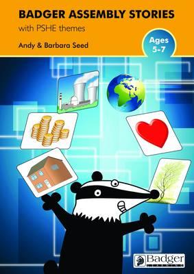 PSHE Themes Teacher Book & CD - Badger Assembly Stories KS1