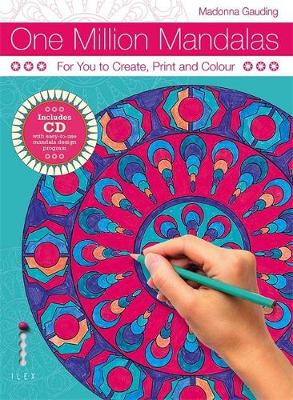 One Million Mandalas: For You to Create, Print and Colour (Paperback)