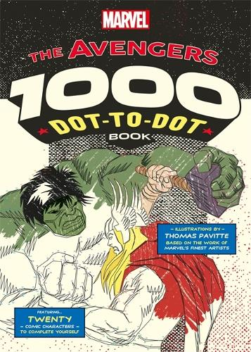 Marvel S Avengers 1000 Dot To Dot Book By Thomas Pavitte Waterstones