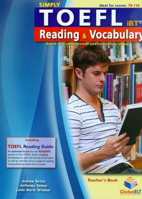 Simply TOEFL Reading & Vocabulary - Teacher's Book (Paperback)