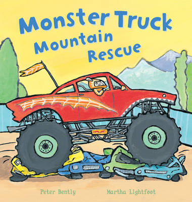 Monster Truck Mountain Rescue! - Busy Wheels (Paperback)