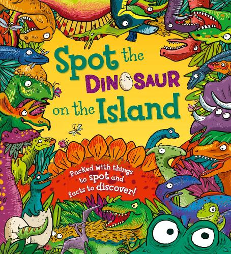 Spot the Dinosaur on the Island (Paperback)