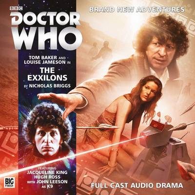The Exxilons - Doctor Who: The Fourth Doctor Adventures (CD-Audio)