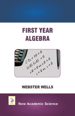 First Year Algebra (Hardback)