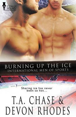 International Men of Sports: Burning Up the Ice (Paperback)