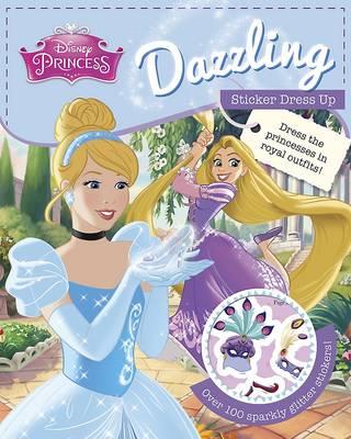 Disney Princess Dazzling Sticker Dress Up (Paperback)