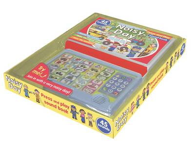 Noisy Day (Interactive Story Book with 45 Sound Buttons) (Board book)