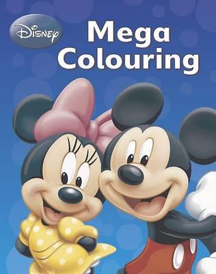 Disney Mickey Mouse & Co Mega Colouring Book (Paperback)