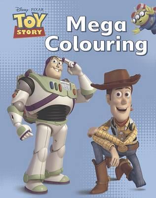 Disney Toy Story Mega Colouring Book (Paperback)
