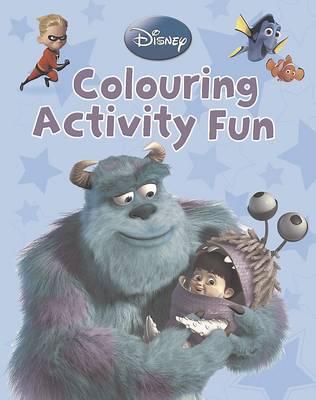 Disney Pixar: Colour Activity Fun (Paperback)