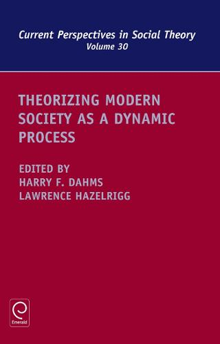 Theorizing Modern Society as a Dynamic Process - Current Perspectives in Social Theory 30 (Hardback)