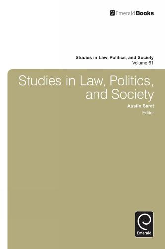 Studies in Law, Politics and Society - Studies in Law, Politics and Society 66 (Hardback)