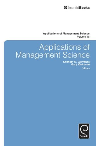 Applications of Management Science - Applications of Management Science 19 (Hardback)