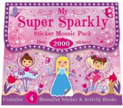 My Super Sparkly Sticker Mosaic Pack - 1000's of Stickers