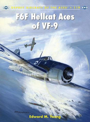 F6F Hellcat Aces of VF-9 - Aircraft of the Aces 119 (Paperback)