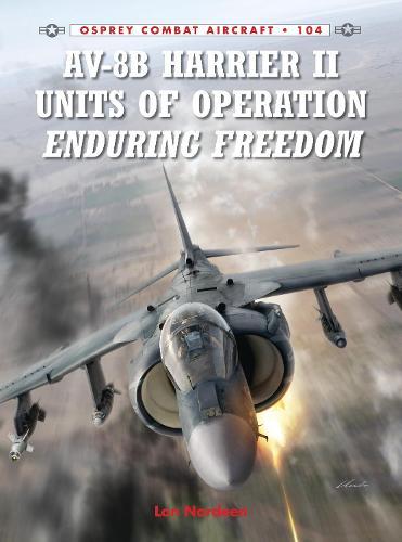 AV-8B Harrier II Units of Operation Enduring Freedom - Combat Aircraft 104 (Paperback)