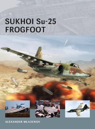 Sukhoi Su-25 Frogfoot - Air Vanguard (Paperback)