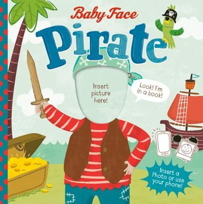 Pirate - Baby Face (Board book)