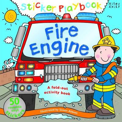 Fire Engine Sticker Playbook - Playbooks (Spiral bound)