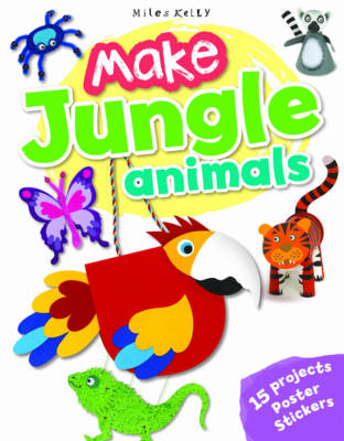 Make Jungle Animals (Paperback)