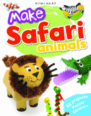 Make Safari Animals (Paperback)