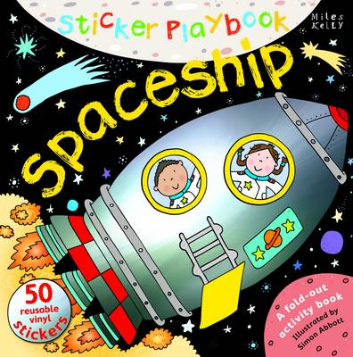 Sticker Playbook Spaceship - Sticker Playbook (Hardback)