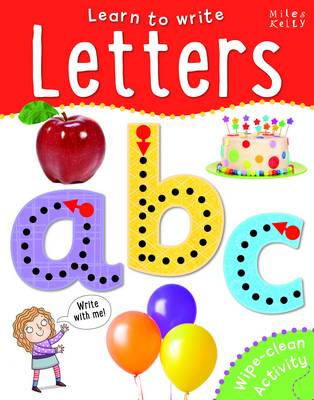 Learn to Write Letters (Spiral bound)