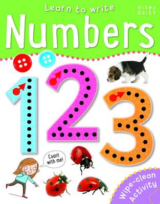 Learn to Write Numbers (Paperback)